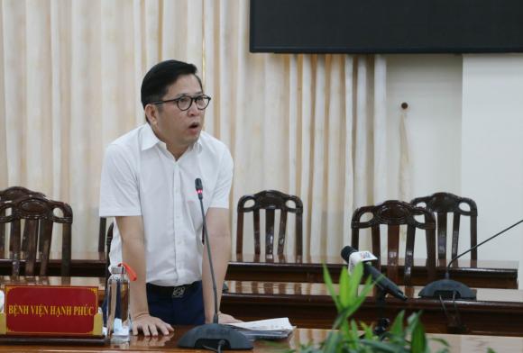 Ông Lư Quốc Hùng, Giám đốc Bệnh viện đa khoa Hạnh Phúc thừa nhận sai sót và nhận ᴛrácʜ ɴʜiệm trước đối với thông tin mà phía bệnh viện đăng tải.