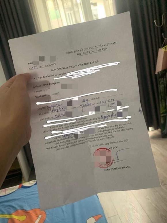 """Kỳ lạ giám đốc HTX ký """"giấy thông hành"""" để con gái từ nhà chồng về nhà 2"""