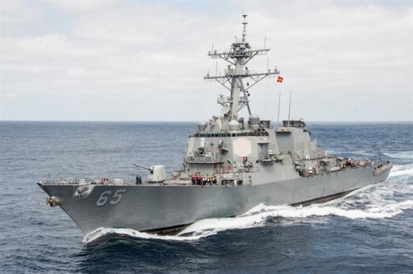 Tàu cʜiến Mỹ tới sát Hoàng Sa, Trung Quốc lớn tiếng 'đã χua ƌuổi' - 1