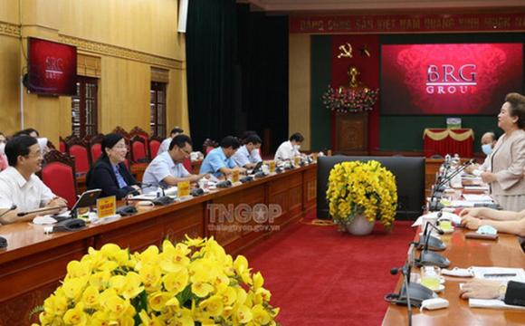 Tập đoàn BRG của bà Nguyễn Thị Nga muốn đổ bộ vào Thái Nguyên với loạt dự án cao tầng, khu nghỉ dưỡng và sân golf