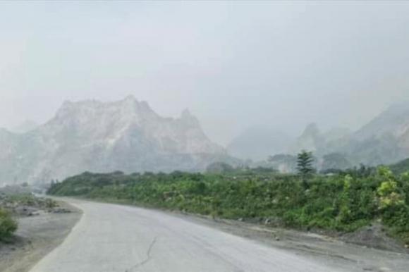 Mỏ đá của Công ty TNHH Havico Hà Nam tại thôn Đồng Ao (xã Thanh Thủy, huyện Thanh Liêm, Hà Nam). Ảnh minh họa.