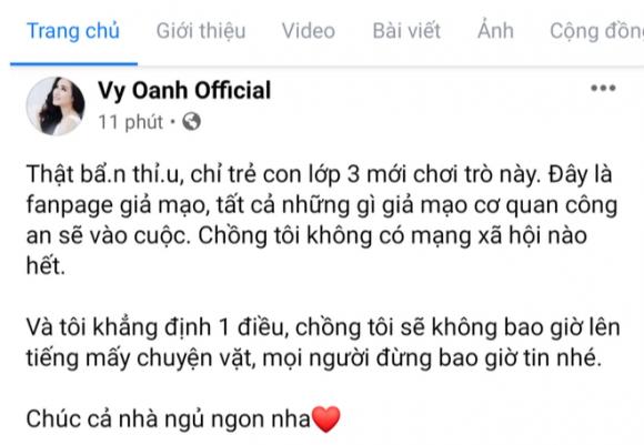 Giữa đêm, có người nhận là chồng Vy Oanh than lo cho doanh nghiệp rồi giờ phải lo chạy 400 tỷ cho vợ làm từ thiện? - Ảnh 2.