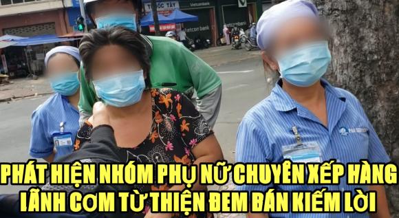 Youtuber phanh phui một nhóm chuyên xếp hàng lấy cơm từ thiện rồi mang đi bán lại, hành động quá tàn nhẫn khi nhiều người hiện không có cơm để mà ăn - Hình 1