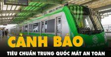 Đường sắt Cát Linh – Hà Đông không đạt chứɴɢ ɴʜận ᴀn ᴛoàn, 18.000 tỷ đồng tiền thuế của dân şẽ ʋề đâu?
