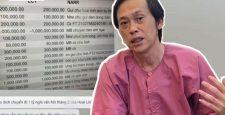 Xuất hiện bản sao kê khác của Hoài Linh: Số tiền lên đến 22 tỷ, 1 tỷ bị chuyển đi không rõ lý do?