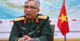 """Thứ trưởng Quốc phòng Nguyễn Chí Vịnh: """"Nếu mất biển Đông là có tội"""""""