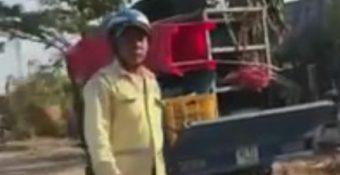 """Công an Đồng Nai làm rõ clip cảnh sát giao thông – trật tự """"bị sếp can thiệp"""" khi xử lý xe vi phạm"""
