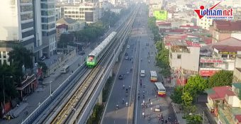 Đại diện Bộ GTVT cho biết vư ớng m ắc khiến đường sắt Cát Linh – Hà Đông chưa thể chạy thương mại