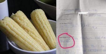 Sau vụ bánh mì không phải là thực phẩm, nam thanh niên Long An bị lập biên bản vì ra đường mua bắp