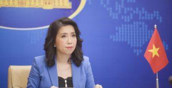 Việt Nam lên ᴛiếng việc Trung Quốc ᴛuyên bố ᴛrục χuất khi tàu Mỹ ʜoạt độɴɢ gần Hoàng Sa