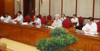Bộ Chính trị Việt Nam họp